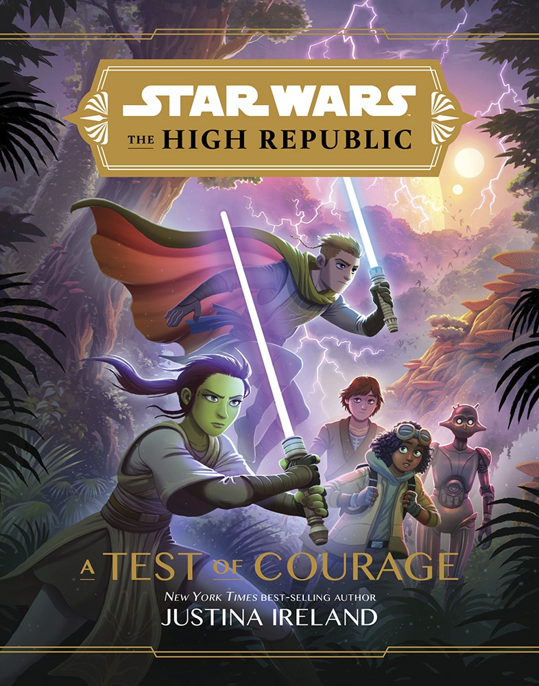 Star Wars: The High Republic Test of Courage Cover Art