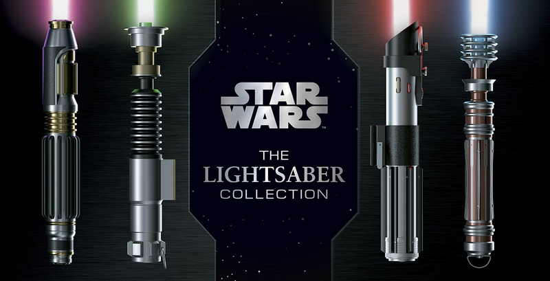 Star Wars: The Lightsaber Collection Cover Art
