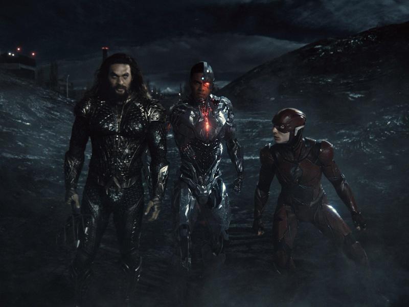 Justice League Aquaman Cyborg Flash