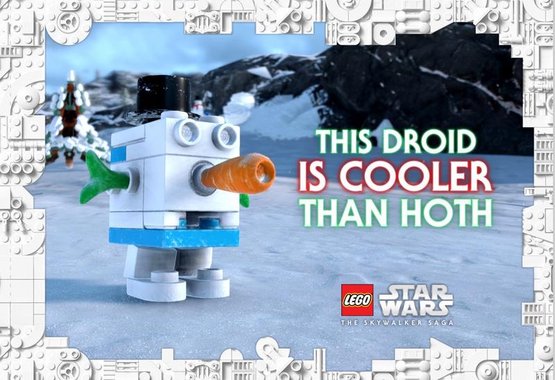 LEGO Star Wars Holiday Promo Image
