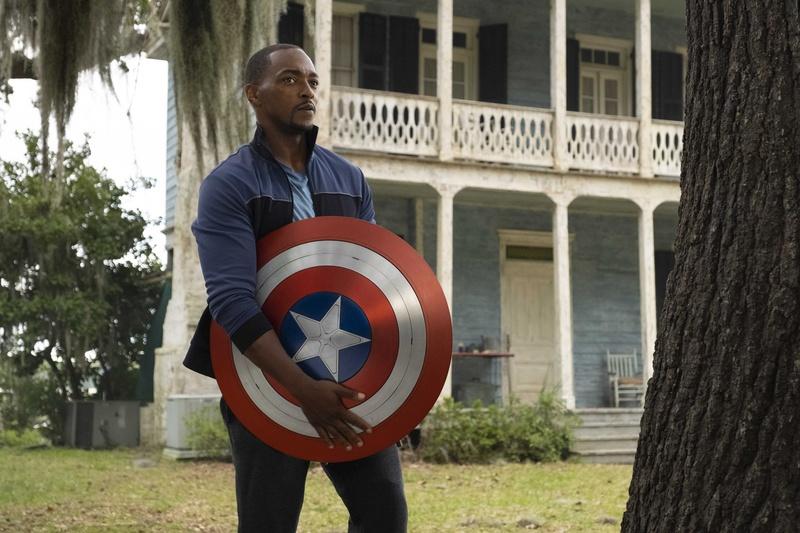 The Falcon and the Winter Soldier, Sam Wilson, Captain America shield