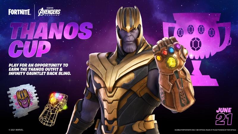 Thanos, Fortnite, Infinity Gauntlet