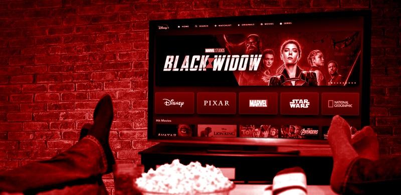 Black Widow on Disney+