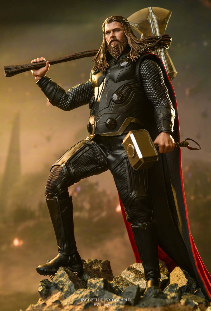 Thor with hammers