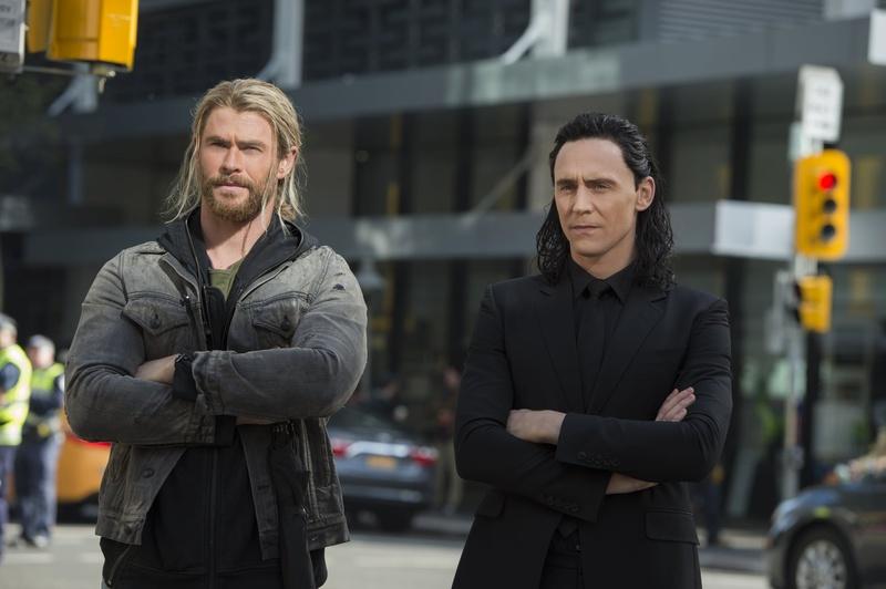 Thor and Loki Ragnarok