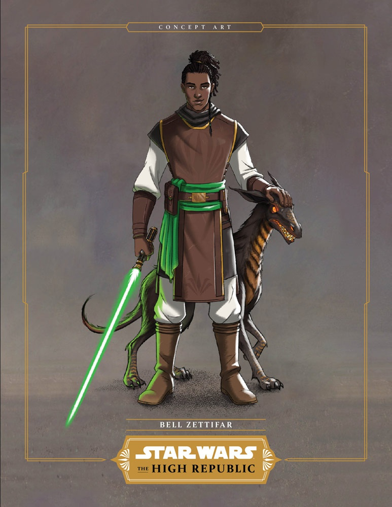 The High Republic Padawan Concept Art 4