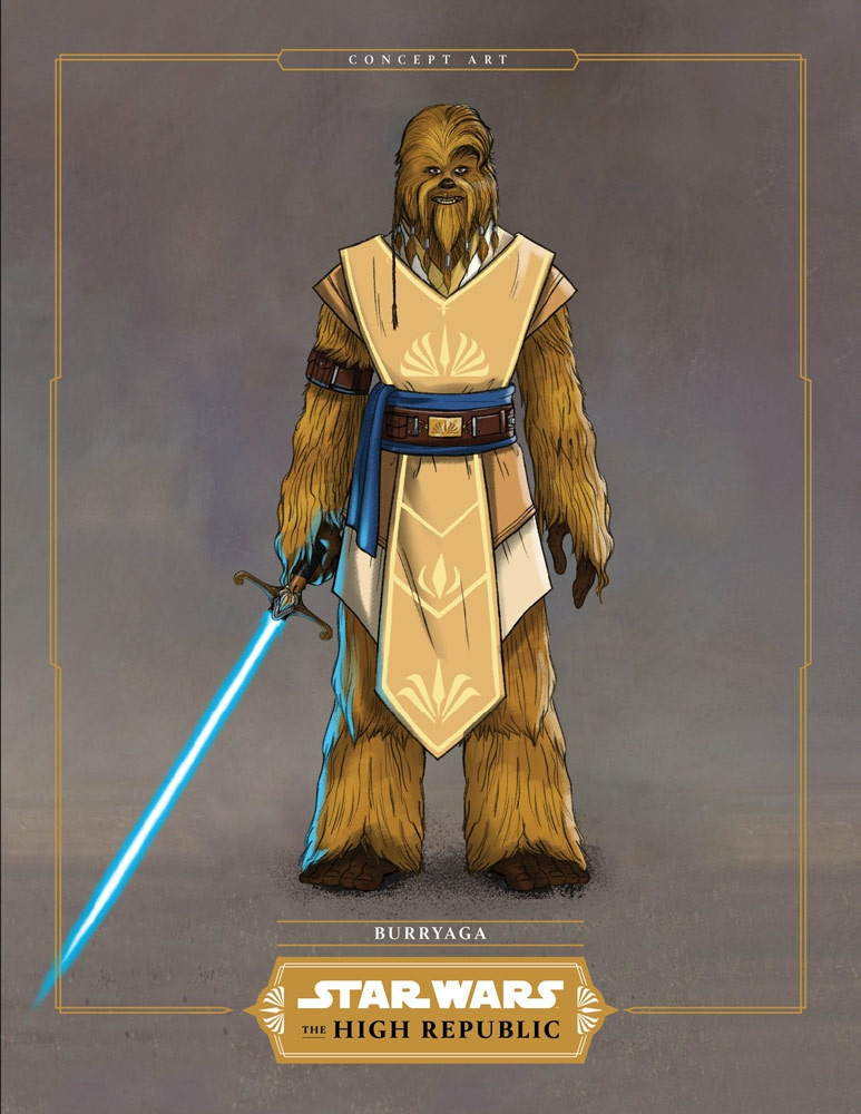 The High Republic Padawan Concept Art 1