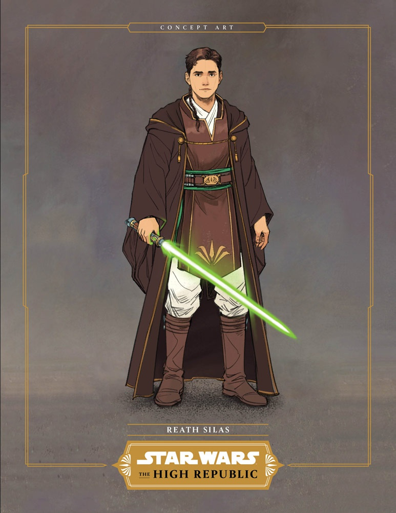 The High Republic Padawan Concept Art 2