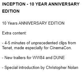 Palads Teatret translation new WW84 trailer