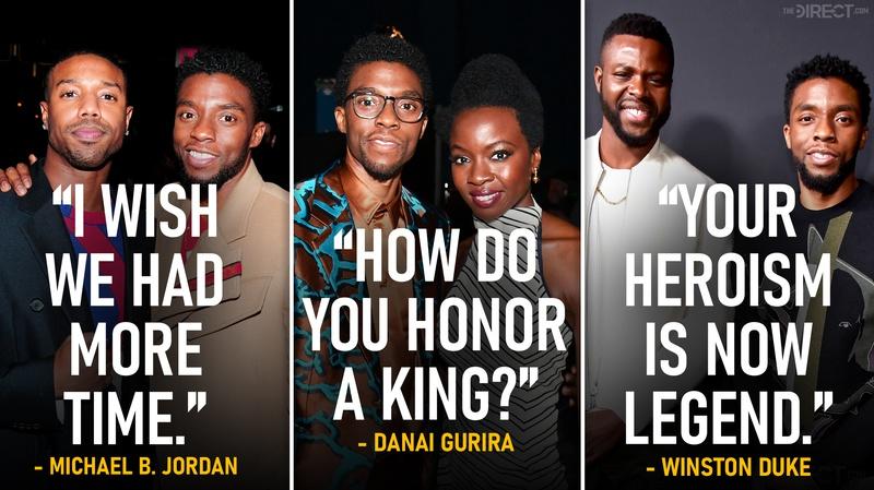 Chadwick Boseman quote tributes