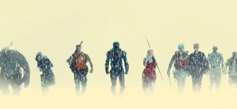 The Suicide Squad Line Up