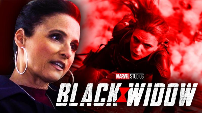 Black Widow Julia Louis Dreyfus