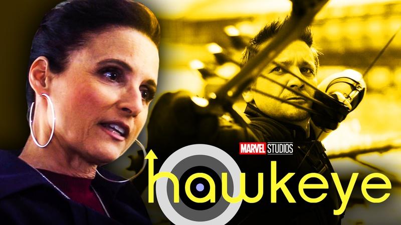 Hawkeye Julia Louis Dreyfus