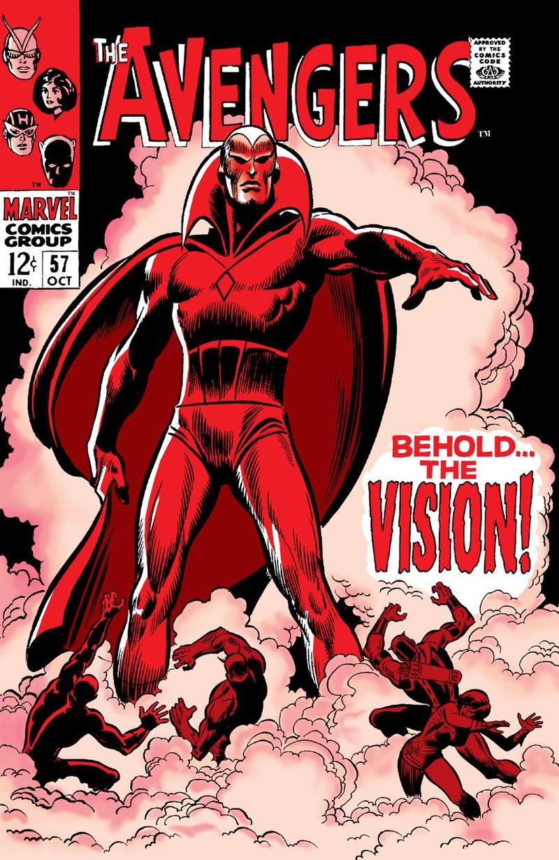 Vision Avengers Comic