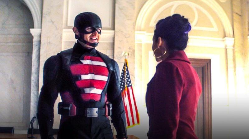 US Agent Falcon and Winter Soldier