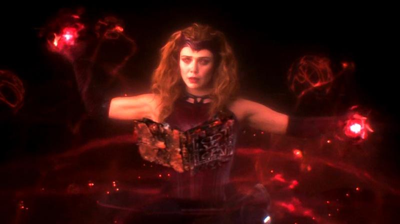 Scarlet Witch WandaVision Post Credits
