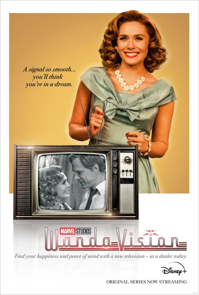 WandaVision 1950s poster Wanda
