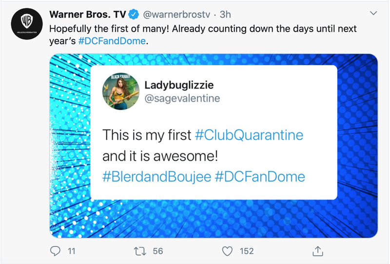 Warner Bros. provoca o evento 2021 DC FanDome 1