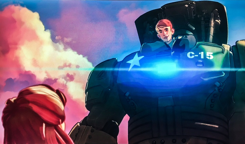 Marvel's What If Steve Rogers Iron Man
