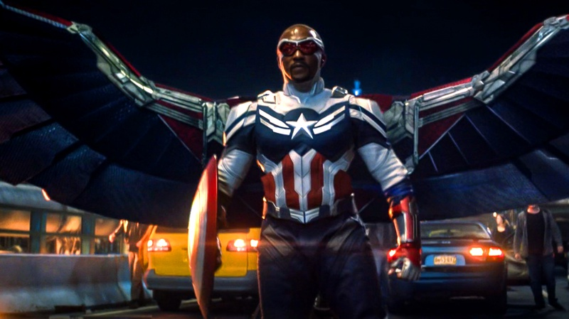 Falcon Captain America Suit