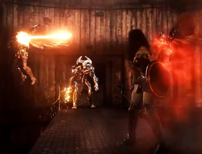 Wonder Woman Steppenwolf Justice League