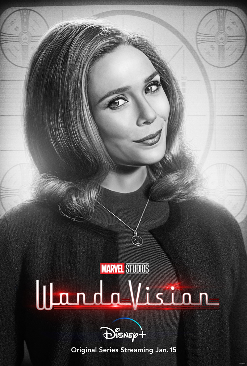 Scarlet Witch WandaVision Poster