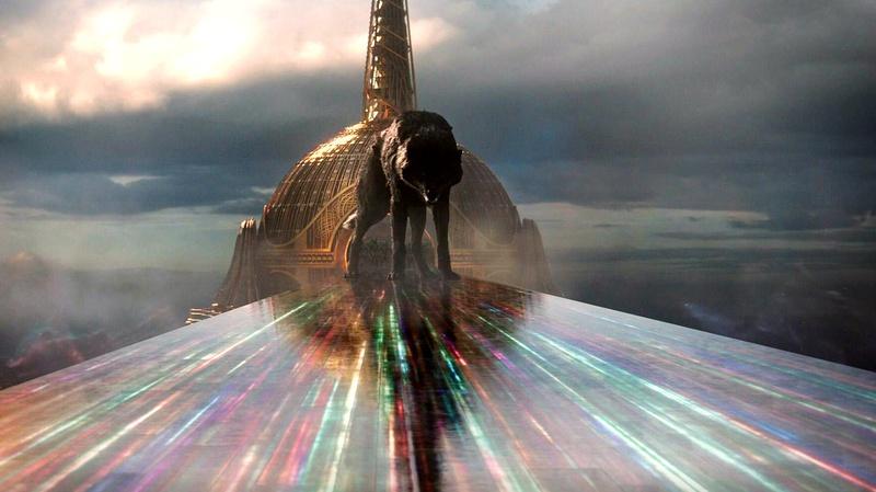 WandaVision and Thor Rainbow Bridge