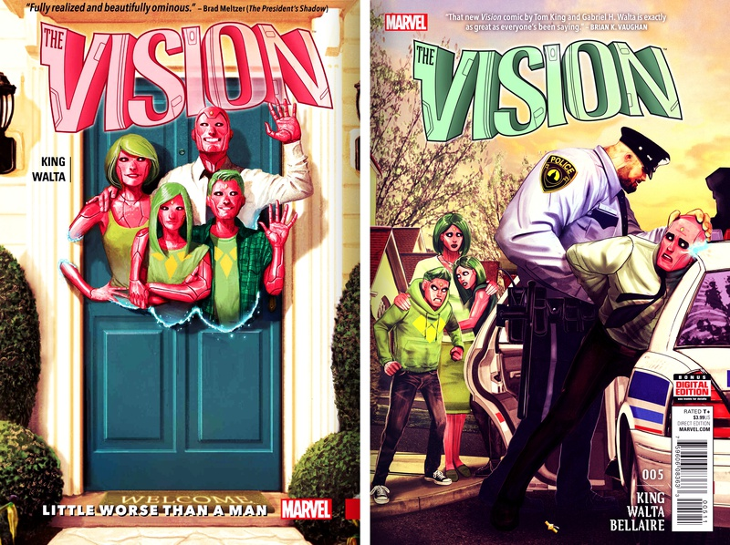 The Vision Comic