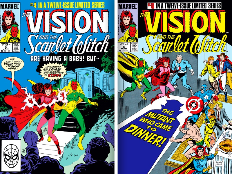 The Vision & the Scarlet Witch Comic