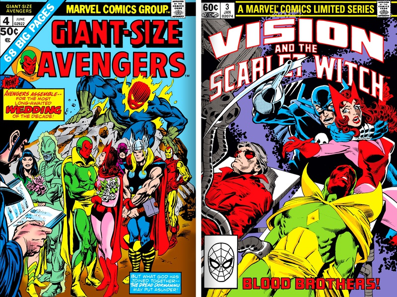 Giant-Sized Avengers, Vision & the Scarlet Witch