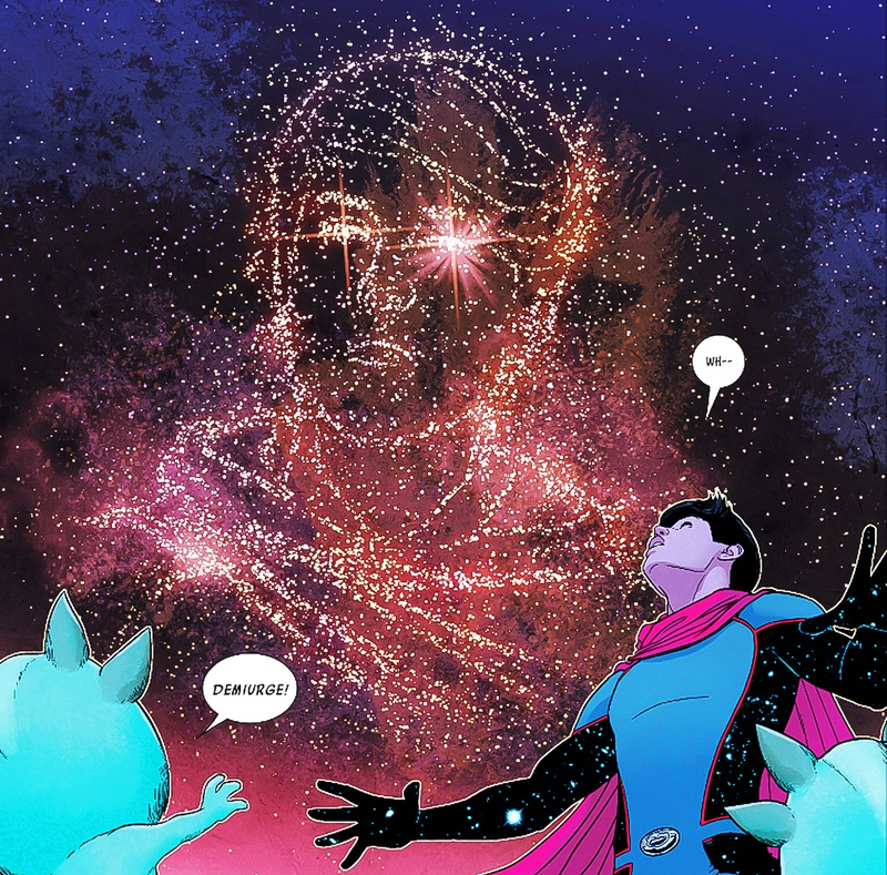 WandaVision Young Avengers Demiurge