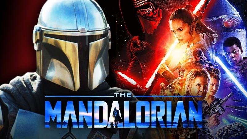 Mandalorian, Star Wars poster
