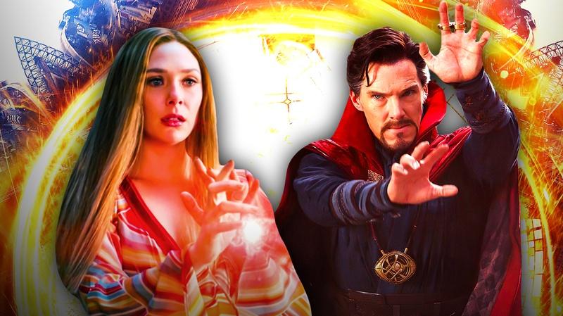 Wanda Maximoff and Doctor Strange