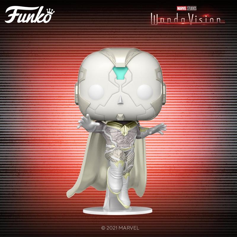 White Vision WandaVision Funko