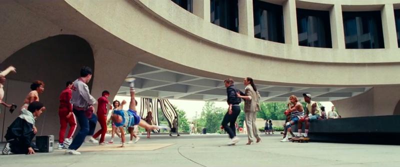 Wonder Woman 1984 1980s breakdancing