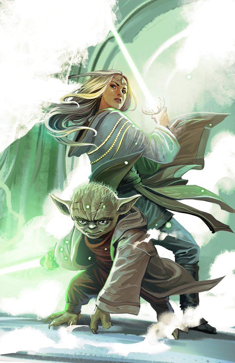Yoda and Avar Kriss