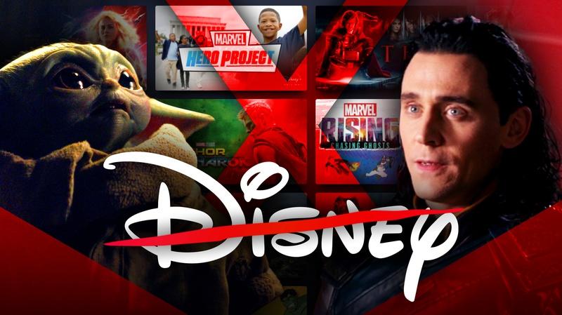 Baby Yoda and Loki, Disney+