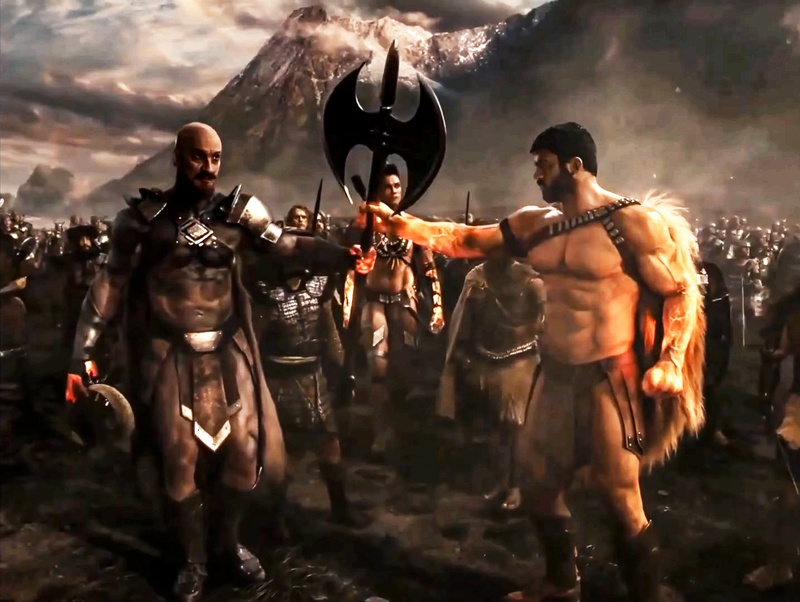 Ares Justice League Cameo