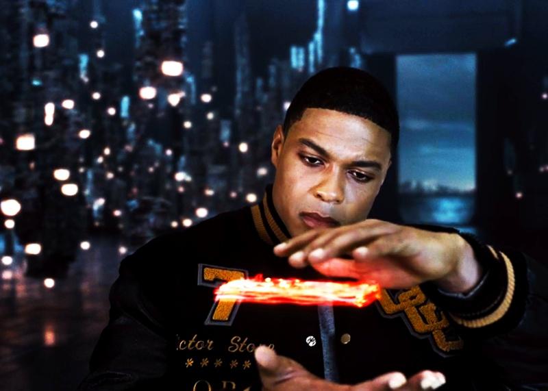 Cyborg Money Scene Justice League