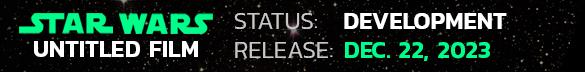 2023 Star Wars Movie